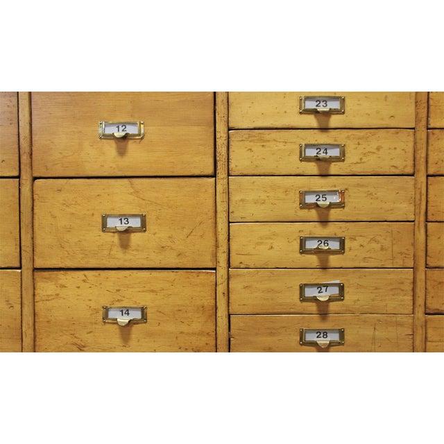 Vintage Pine Multi Drawer Cabinet - Image 4 of 4