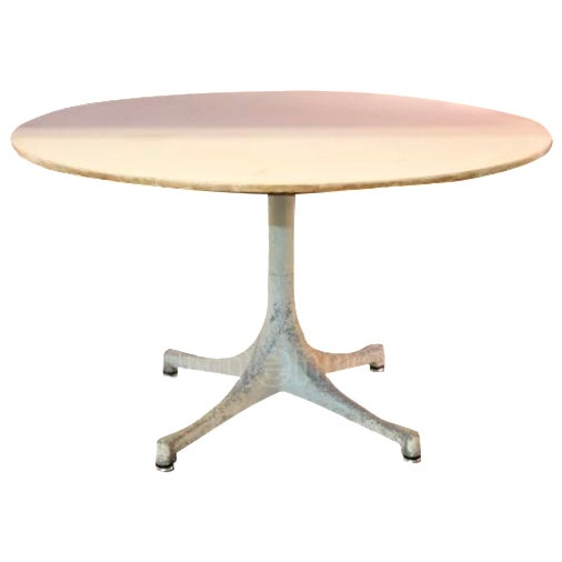 George Nelson Mid Century White Coffee Table Chairish
