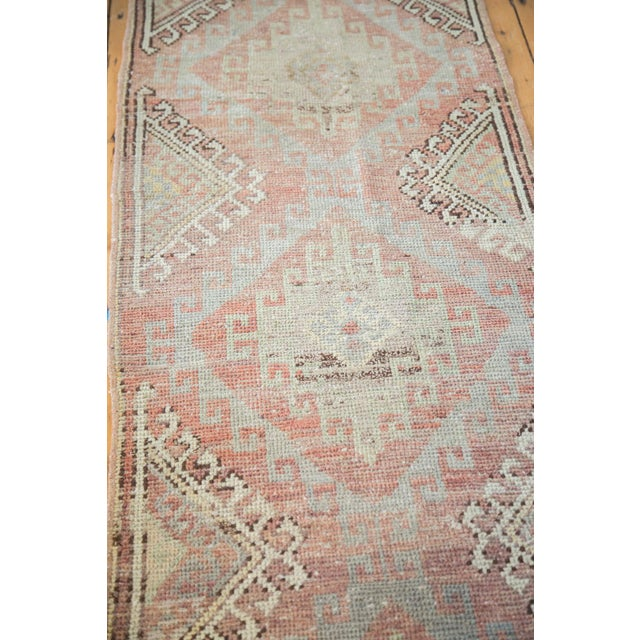 "Distressed Oushak Runner - 2'5"" X 7'5"" - Image 3 of 7"