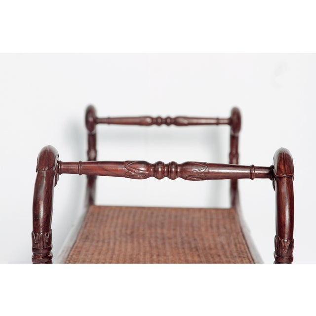 Group of Four English Style Carved Walnut Benches - Image 7 of 11
