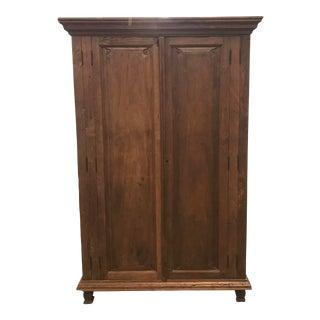 1900s Antique Oak Armoire