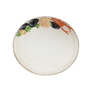 Italy Lobster & Shell Wooden Tray