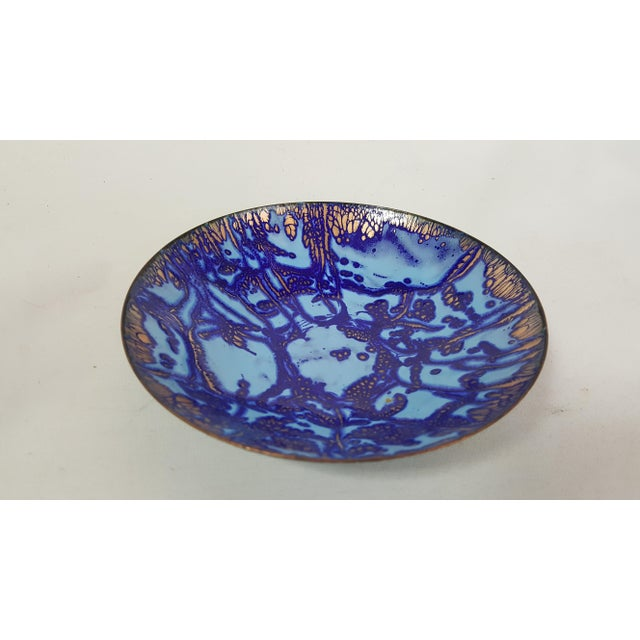 Mid-Century Copper and Enamel Bowl - Image 2 of 4