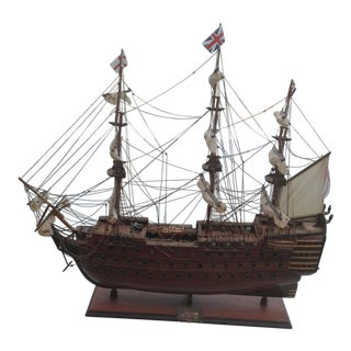 HMS Victory 1805 Wooden Ship Model