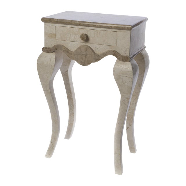 Stone End Table - Image 1 of 4