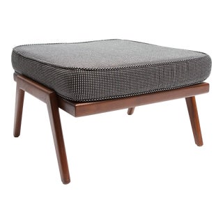 Rail Back Collection Ottoman by Smilow Furniture