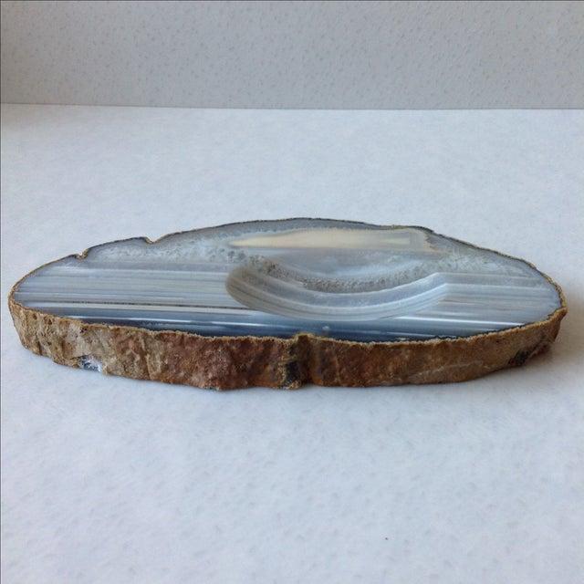 Striped Agate Quartz Dish - Image 11 of 11