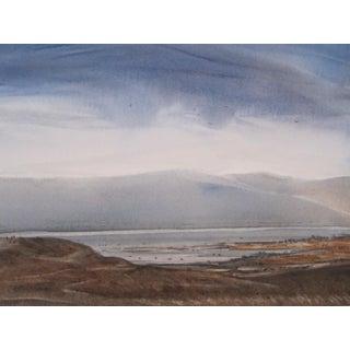 English Lake District Watercolor Painting
