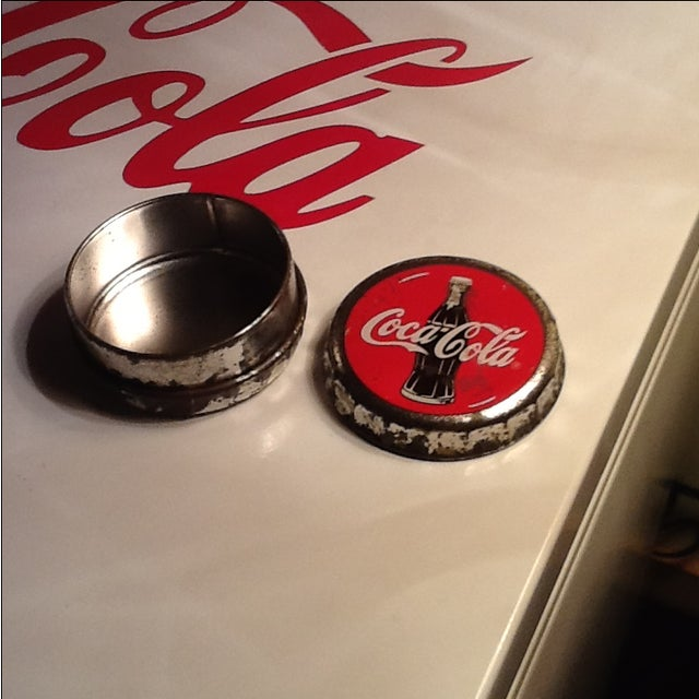 Image of Vintage Coca Cola Cap Tin
