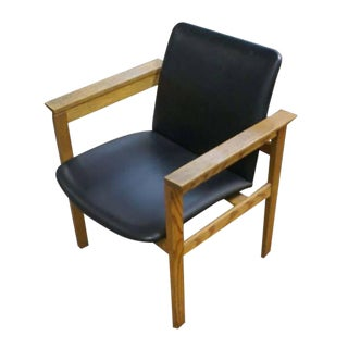 Risom Mid-Century Modern Oak Arm Chair