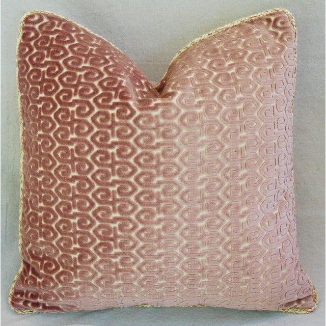 Designer Old World Weavers Velvet Pillows - A Pair - Image 11 of 11