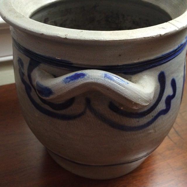 Blue & Grey Salt Glazed Stoneware - A Pair - Image 6 of 7