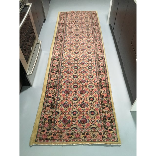 Vintage Egyptian Hand-Tied Wool Rug - 3′9″ × 6′8″ - Image 2 of 6