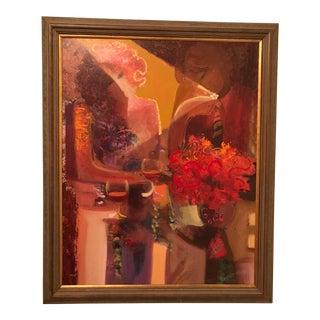 Framed Sabzi Embellished Giclee