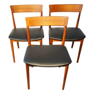 "Danish Rosengren Hansen ""Model 39"" Chairs - S/3"