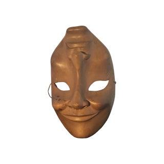 Wooden Greek Drama Mask