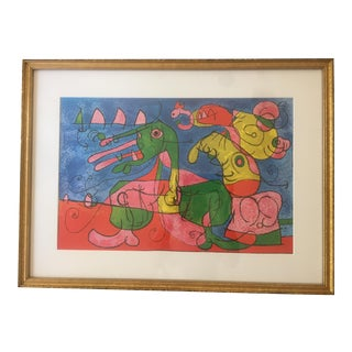 Joan Miro Offset Lithograph on Paper