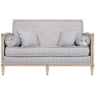 French Antique Louis XVI Settee