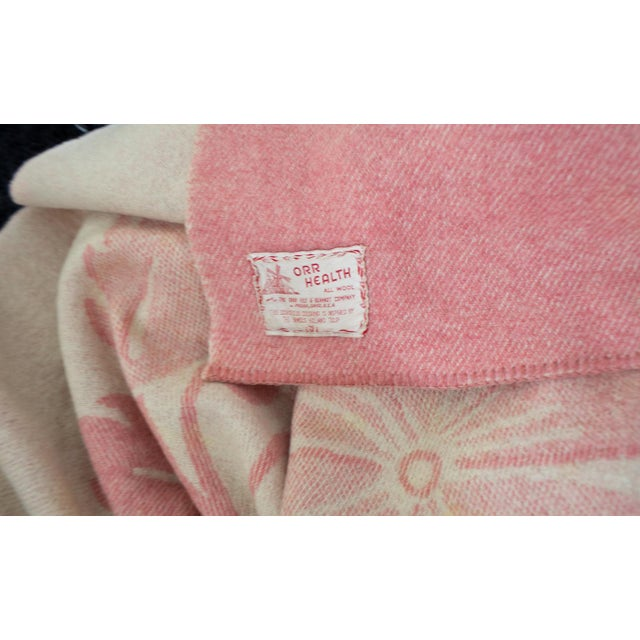 Orr Health Mauve Pink Wool Bohemian Throw Blanket - Image 5 of 5