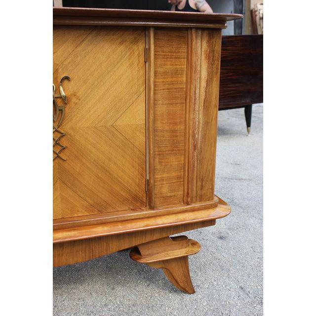 French Art Deco Rosewood sideboard / Credenza Circa 1940s - Image 7 of 10