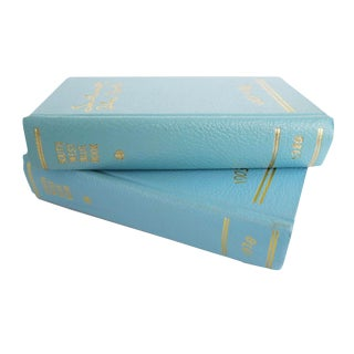 Vintage Gloria Berry Duthie Southwest Blue Book Directory Hardcover Books - Set of 2