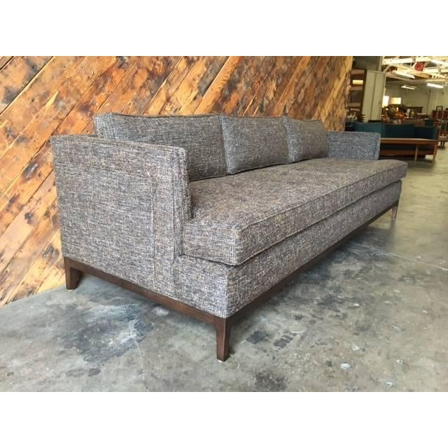 Mid-Century-Style Custom Sofa - Image 4 of 6