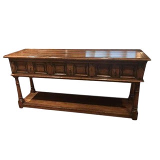 English Country Serving Table