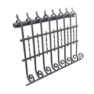 Bowed Balcony Wrought Iron Railing