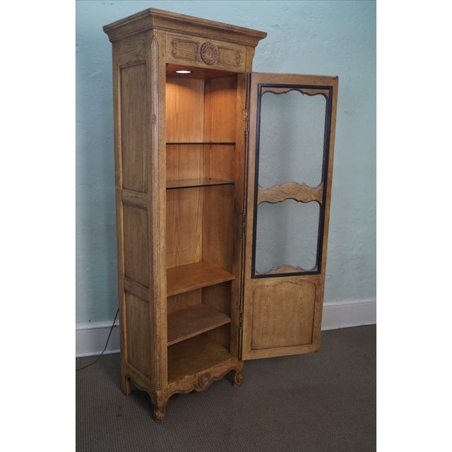 Image of Baker Furniture French Country Curio Cabinet