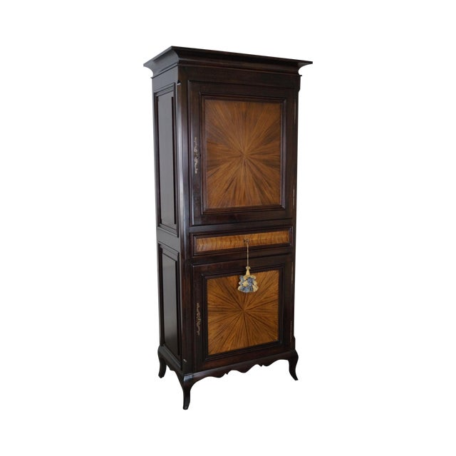 Rossi Brothers French Louis XV Style Armoire - Image 1 of 10