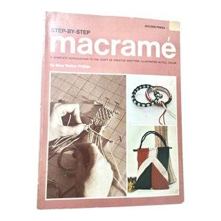 Vintage Step-by-Step Macrame Book