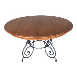 Ethan Allen Legacy Maple Dining Table