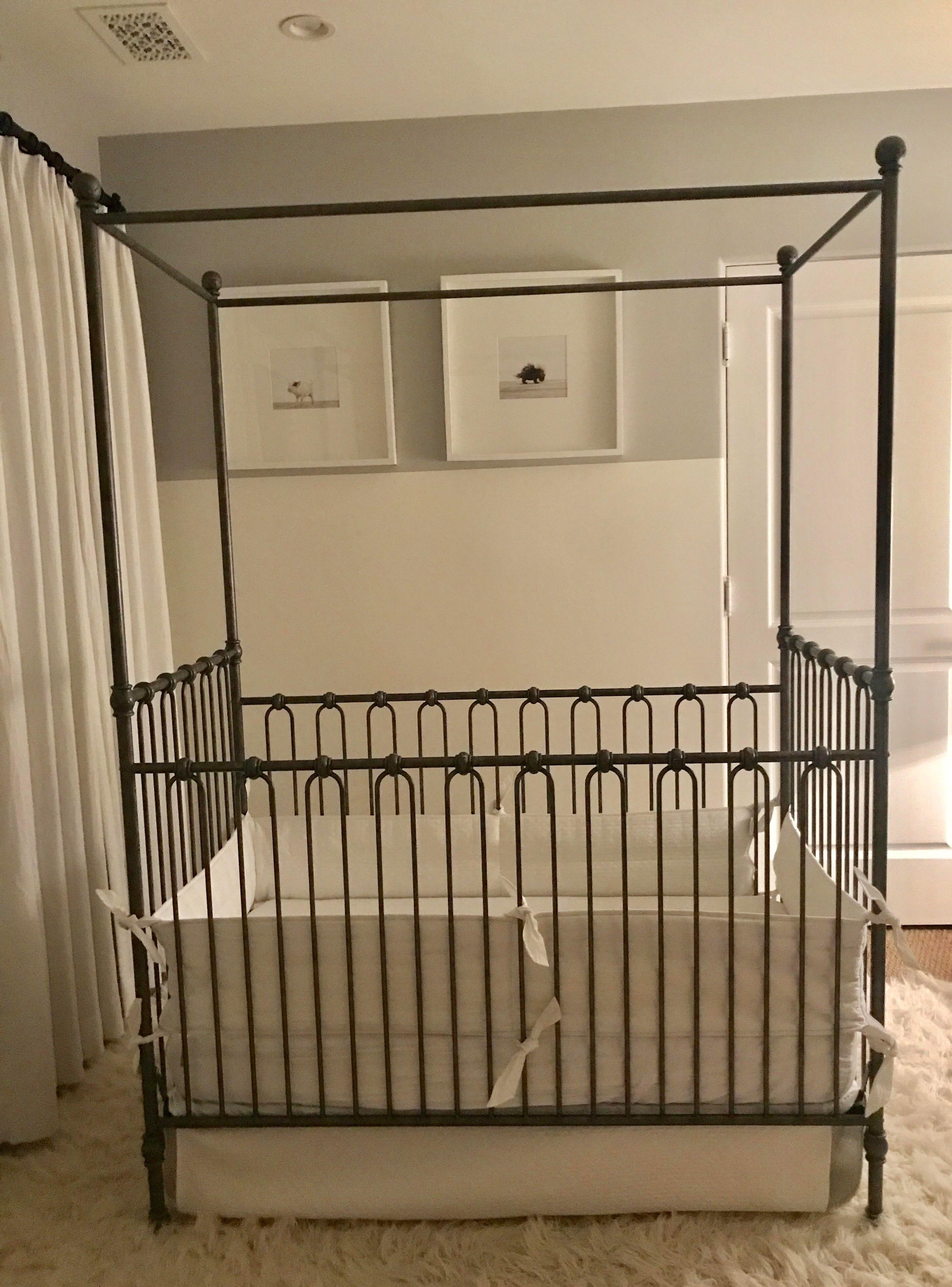 Restoration Hardware Baby Child Canopy Crib Chairish