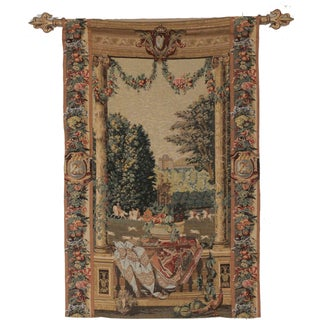 Vintage Hand Woven French Wall Tapestry