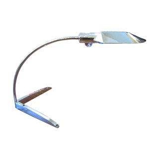 Cedric Hartman Nickel Desk Lamp