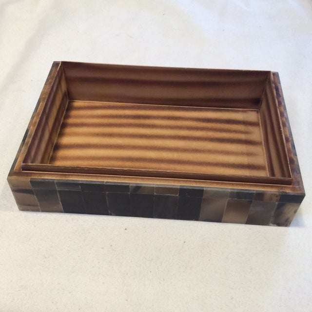 Large Multicolor Horn Box - Image 4 of 6