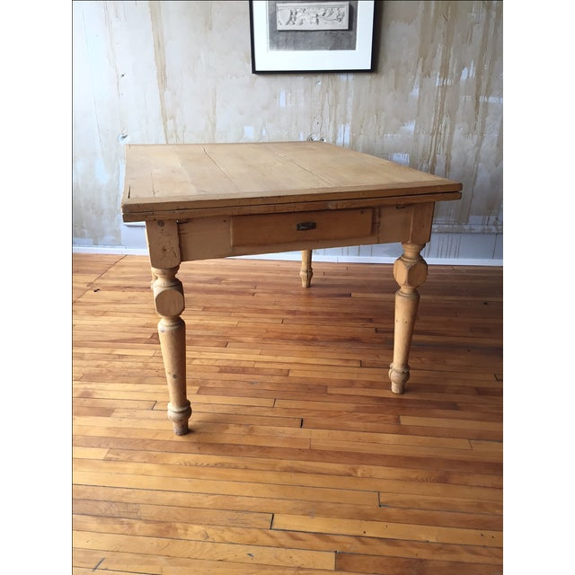 Rustic Italian Antique Dining Table - Image 4 of 9