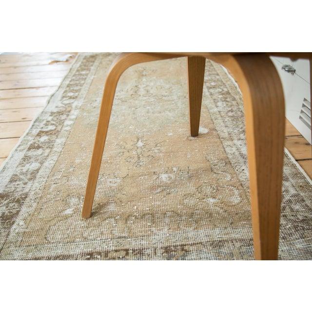 Vintage Oushak Distressed Rug Runner - 3′ × 6′1″ - Image 5 of 9