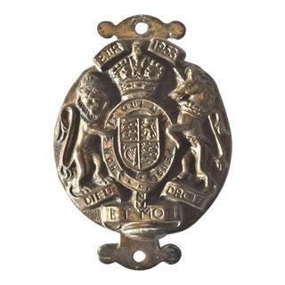 Queen Elizabeth Coronation Door Knocker