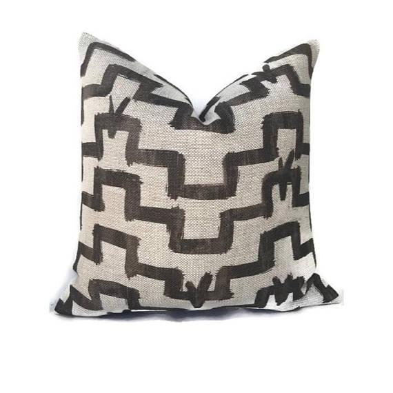 Umber Zak & Fox Tulu Pillow Cover - Image 5 of 5