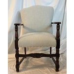 Image of Vintage French Fauteuil Arm Chair