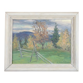 Autumn Wind Oil Painting