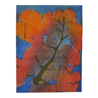 'Fall Colors' Modern Etching