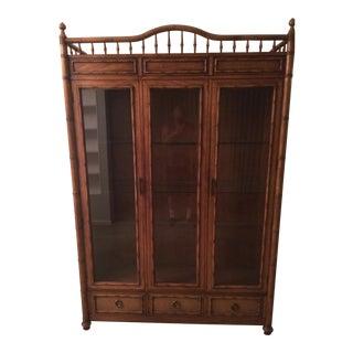 Thomasville China Display Cabinet