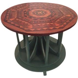Vintage  Craftsman Mosaic Top Table