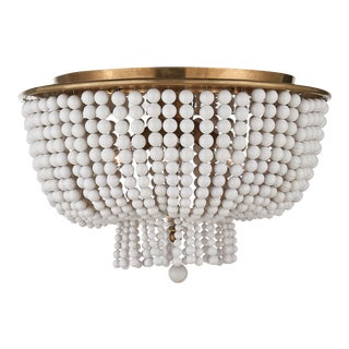 """Jacqueline"" beaded flush mount by Aerin for Visual Comfort"