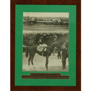 """The Withers Stakes"" B&W Photograph"