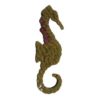 Colorful Seahorse Bottle Cap Wall Hanging Art
