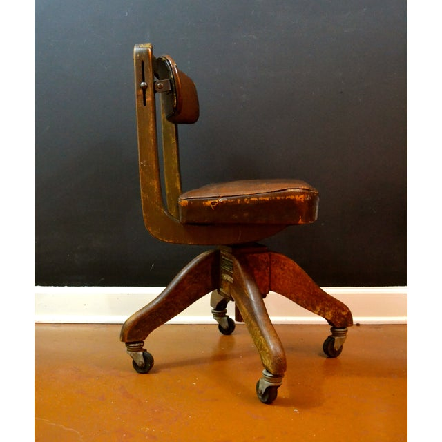 Image of World War II Wood Rolling Chair