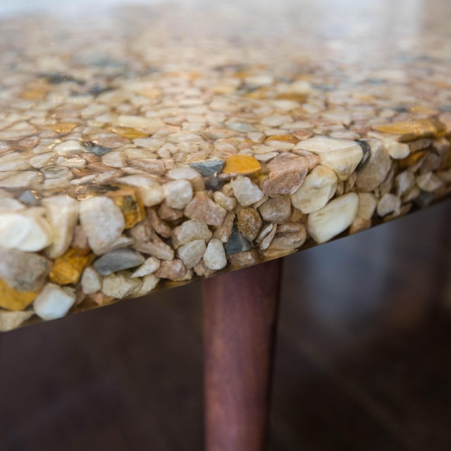 Vintage River Rock Surfboard Coffee Table - Image 4 of 6
